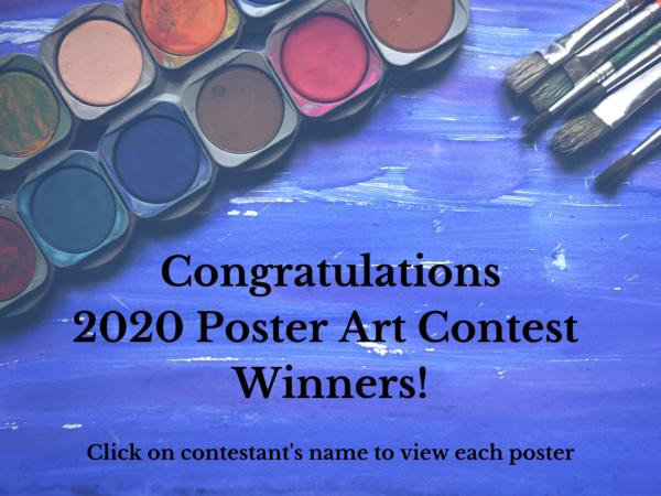 2020 Poster Art Contest Winners 2